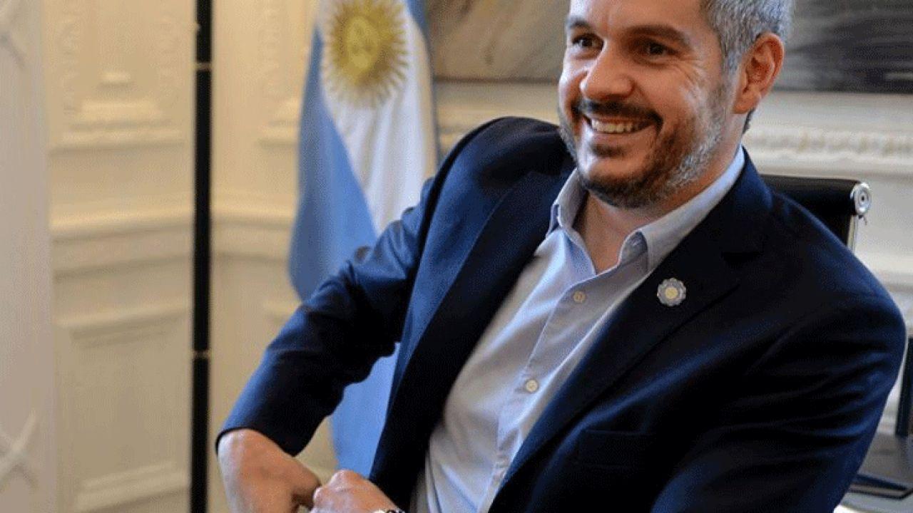 Marcos Peña, ex jefe de Gabinete de Mauricio Macri. | Foto:Cedoc.