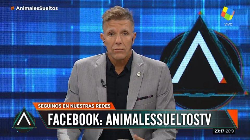 """Fantino en """"Animales sueltos"""