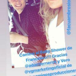 Morena Rial celebró el baby shower de Francesco