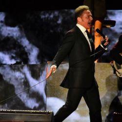 El artista realizó su primer show en Buenos Aires.