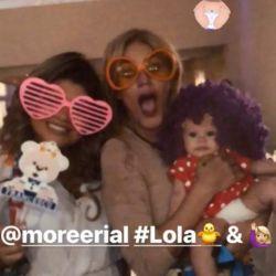 More Rial en el baby shower de Francesco con Jorge Rial