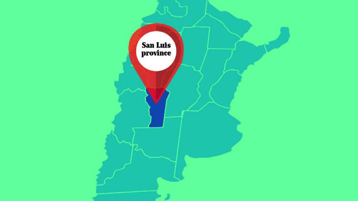 San Luis province.