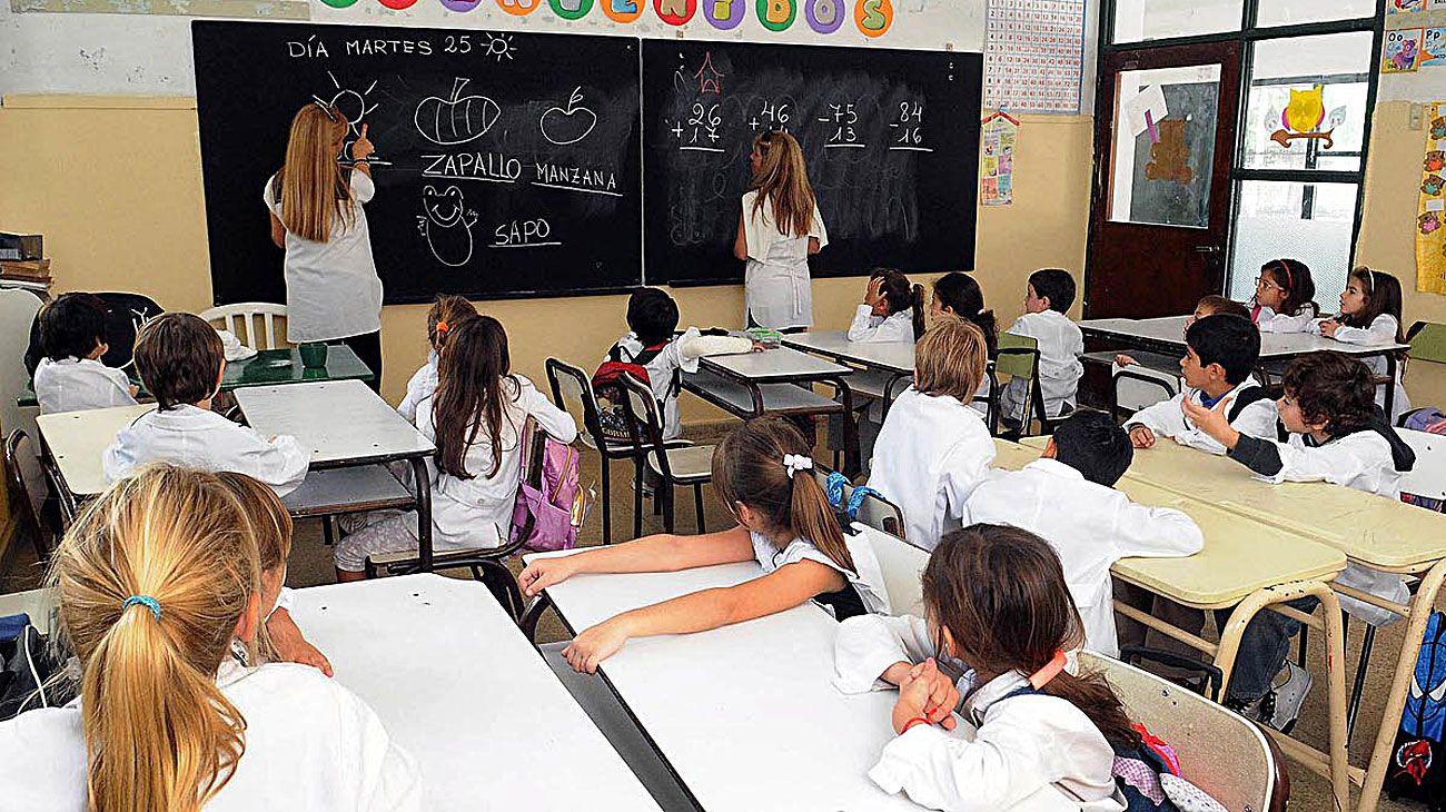 Cambios. Los expertos se preguntan cómo las nuevas tecnologías modificarán las escuelas.