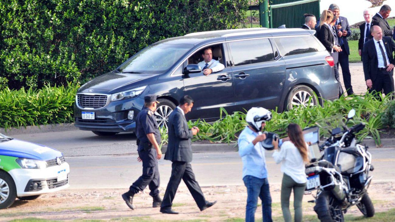 En una ceremonia íntima y breve, Mauricio Macri despidió a su padre Franco