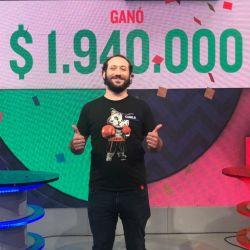 Camilo es el cuarto ganador.