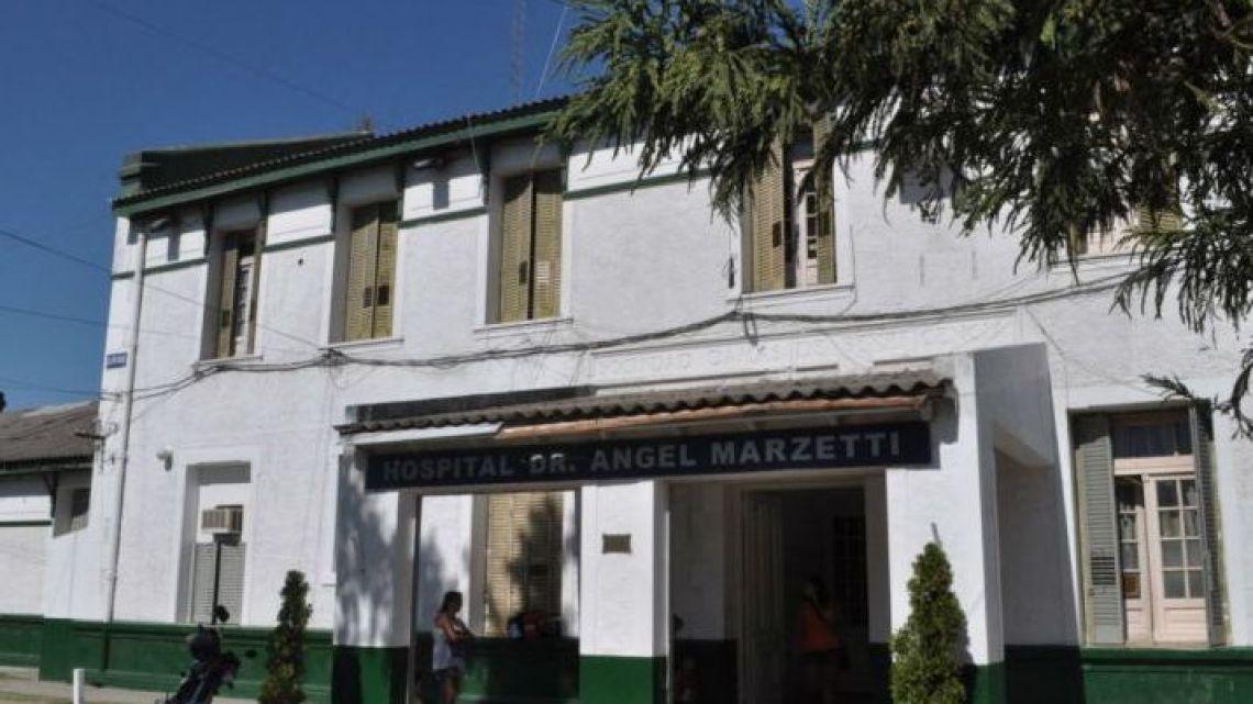 Ángel Marzetti Hospital in Máximo Paz.
