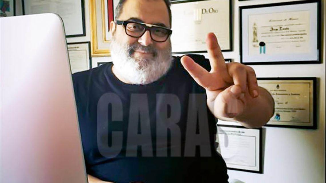 Jorge Lanata salud