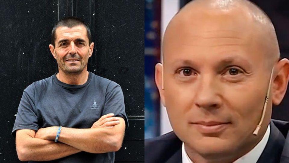 Fiscal Federico Delgado y Marcelo D'Alessio.