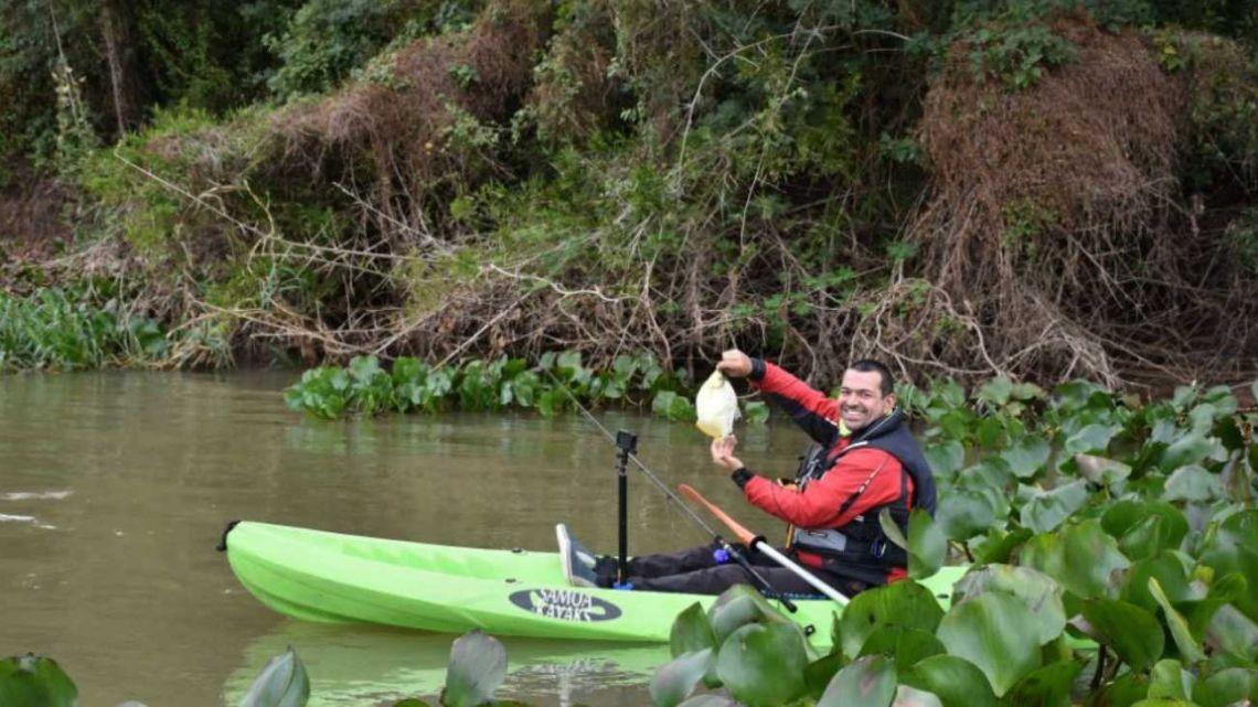 Equipo básico para la pesca en kayak