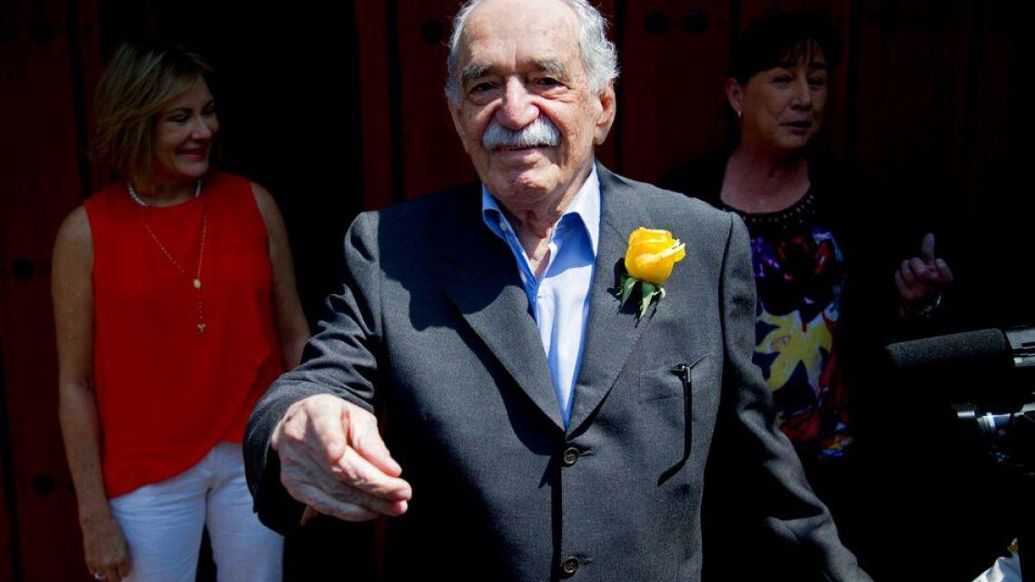 Famous Colombian author Gabriel Garcia Marquez.