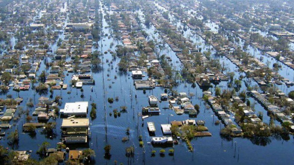 Durante 15 horas del 2 de abril de 2013, las aguas cubrieron la capital bonaerense.