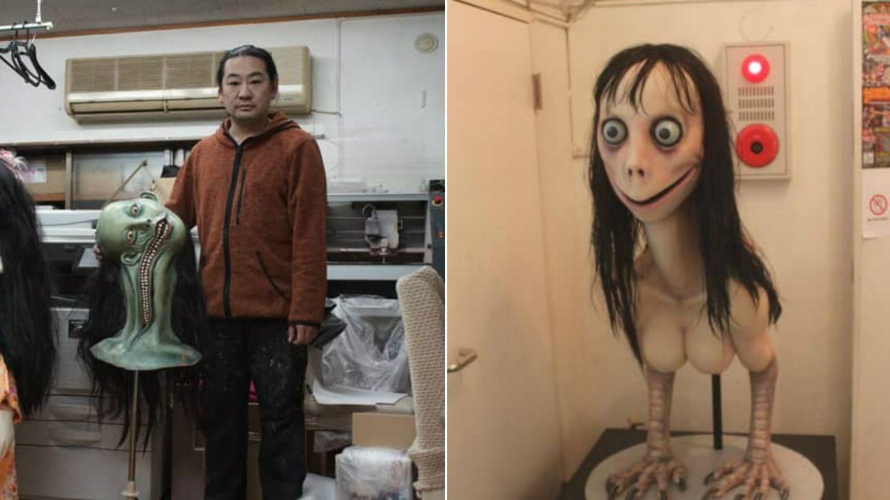 Habló el artista japonés que creó a la espantosa criatura del Momo