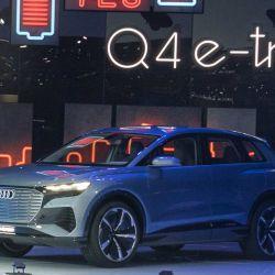Audi Q4 e-tron concept. Foto: GIMS.