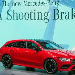Mercedes-Benz CLA Shooting Brake. Foto: GIMS.