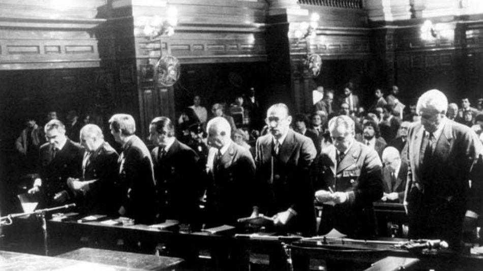 juicio a las juntas dictadura