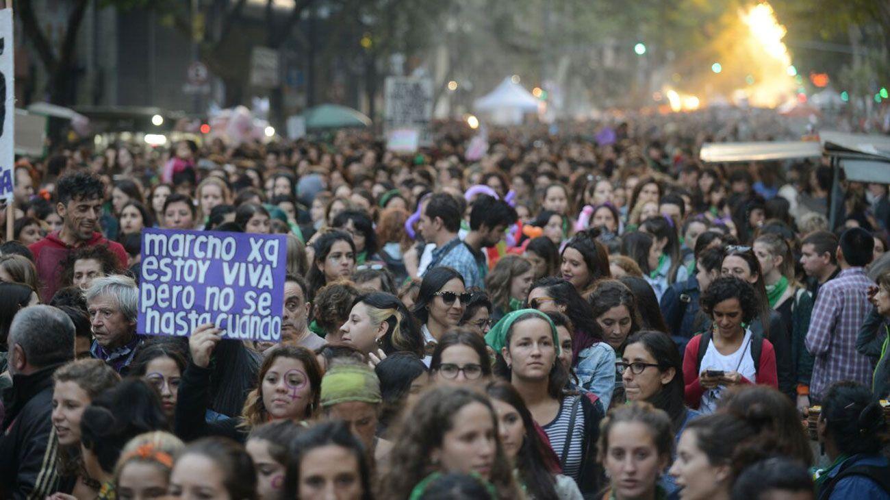 Las mejores fotos de la marcha por el 8M