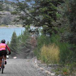 La competencia permite apreciar el lago Futalaufquen, ubicado dentro del Parque Nacional Los Alerces.