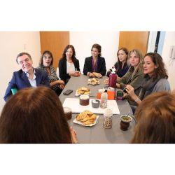 Awada con María Eugenia Vidal, Carolina Stanley y Fabiana Tuñez.
