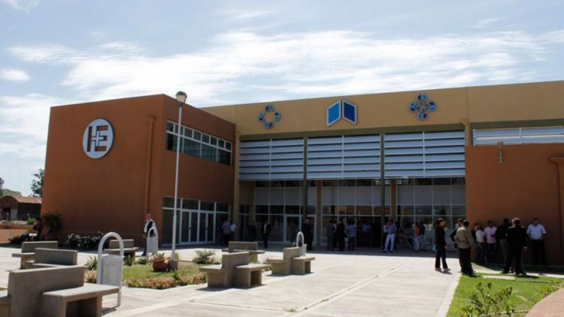 "Hospital del Este ""Eva Perón"" in the city of Banda del Río Salí, Tucumán Province."