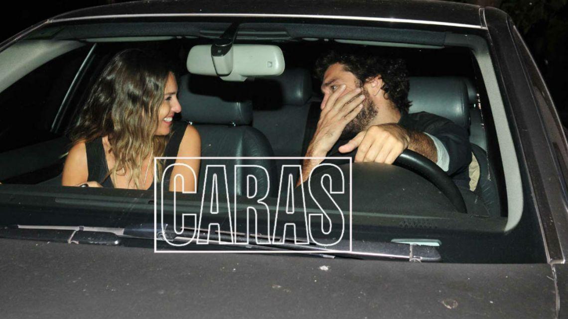 Pampita acompañó a su novio en la inauguración de su nuevo bar. / Fotos: Mauro Fonseca.