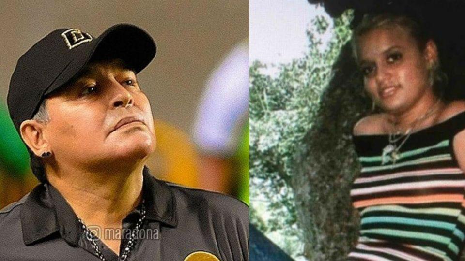 Adonay Fruto, la novia cubana de Diego Maradona