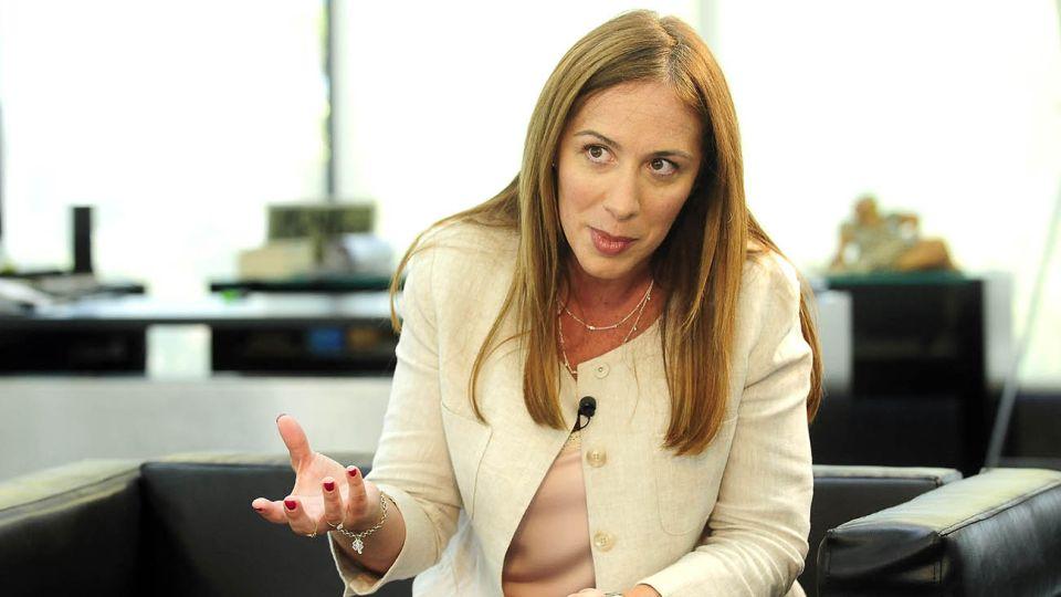 Maria Eugenia Vidal en Perfil