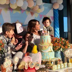 Leo Messi celebró el cumpleaños de Ciro.