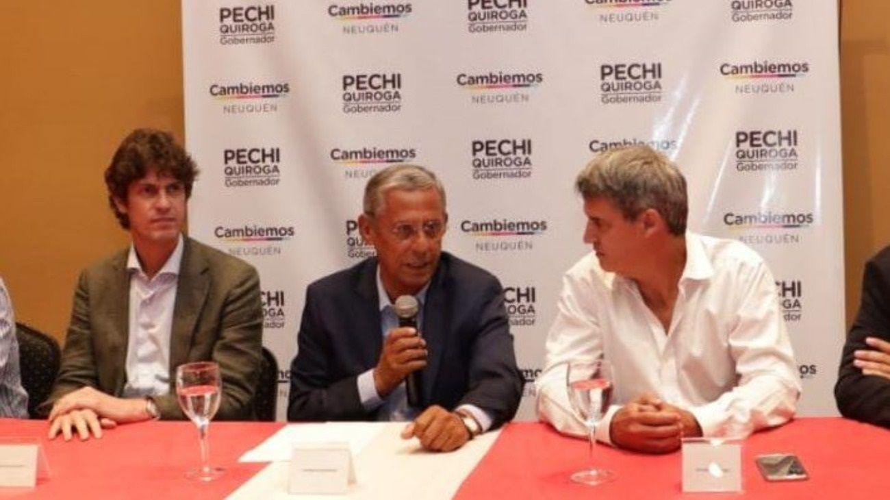 """""""Pechi"""" Quiroga pidió resultados más rápidos a nivel nacional con """"golpes de volante"""""""