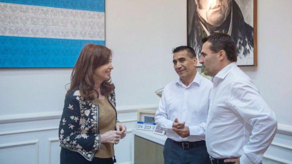 Cristina Kirchner Ramón Rioseco Darío Martínez
