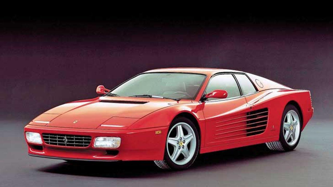 Parabrisas Ferrari Testarossa La Historia De Cabeza Roja
