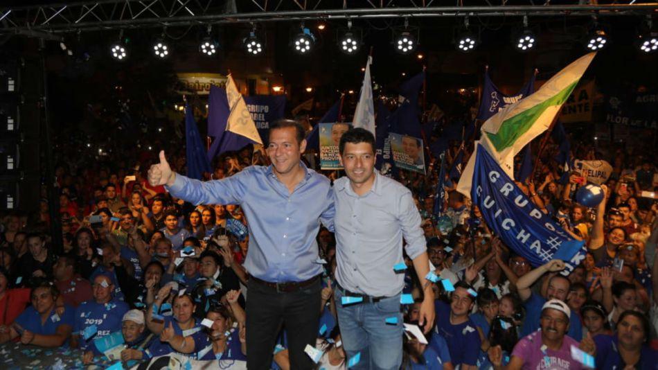 El gobernador Omár Gutiérrez logró imponerse a los candidatos de Cambiemos y el kirchnerismo.