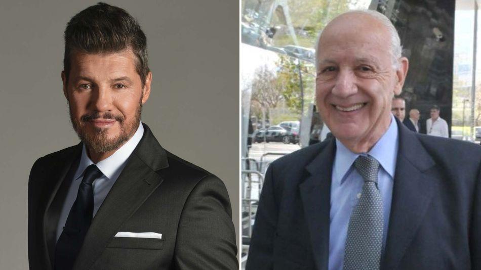Marcelo Tinelli y Roberto Lavagna 03112019