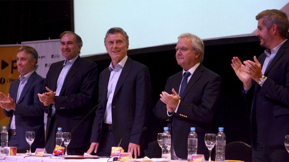 Macri encabezó el cierre de la cumbre PRO en Parque Norte