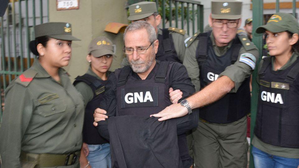 Ricardo jaime, exsecretario de Transporte de la Nación durante las presidencias de Néstor Kirchner y Cristina Fernández de Kirchner.