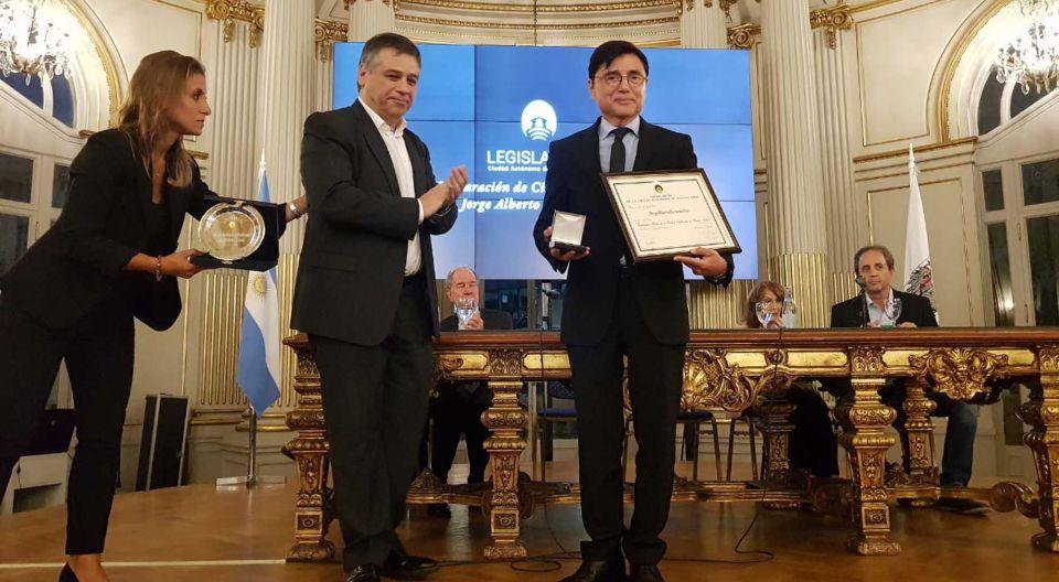 12032019 Legislatura Ciudadano Ilustre Fontevecchia premio