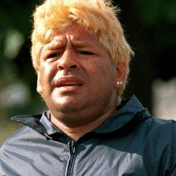 Diego Maradona en Cuba.