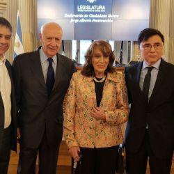 Jorge Fontevecchia fue nombrado Ciudadano Ilustre de la Ciudad