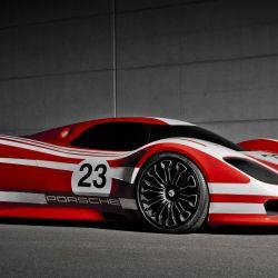 El 917 concept homenajea el primer gran triunfo de Porsche en las 24 Horas de Le Mans.