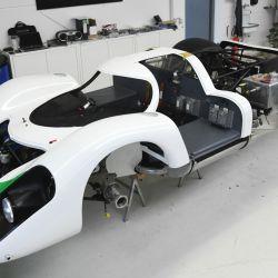 Para la restauración del 917-001 se tomaron como referencia los planos de diseño originales del archivo histórico de Porsche.