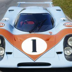 Luego, el 917-001 fue utilizado nuevamente como auto de exposición y redecorado con los colores de la compañía petrolera estadounidense que lo iba a patrocinar.