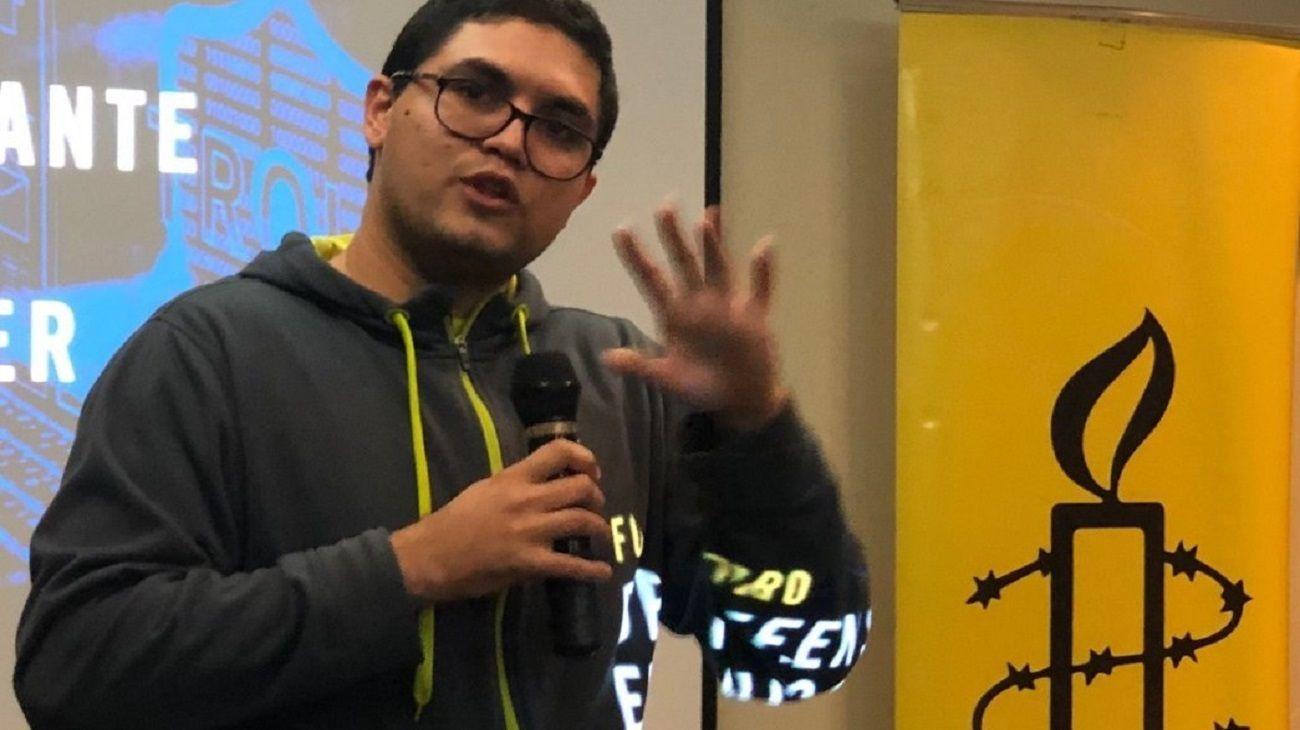 Luis Carlos Díaz, periodista detenido en Venezuela