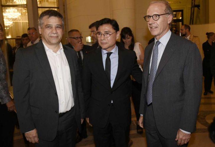Sergio Abrevaya, Jorge Fontevecchia y Carlos Rosenkrantz. Legislatura porteña.