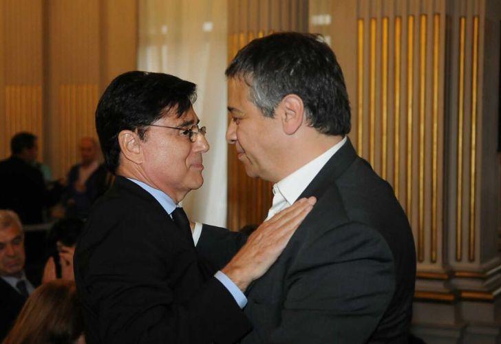Jorge Fontevecchia y Sergio Abrevaya. Legislatura porteña.