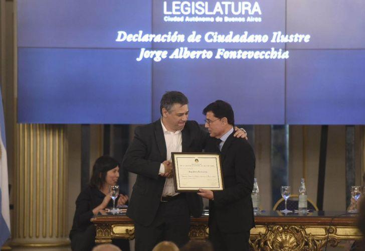 Sergio Abrevaya y Jorge Fontevecchia. Legislatura porteña.