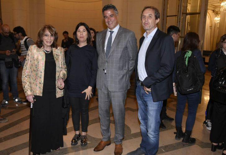 Magdalena Ruiz Guiñazú, María O'Donnell, Daniel Rafecas y Ernesto Tenembaum. Legislatura porteña.
