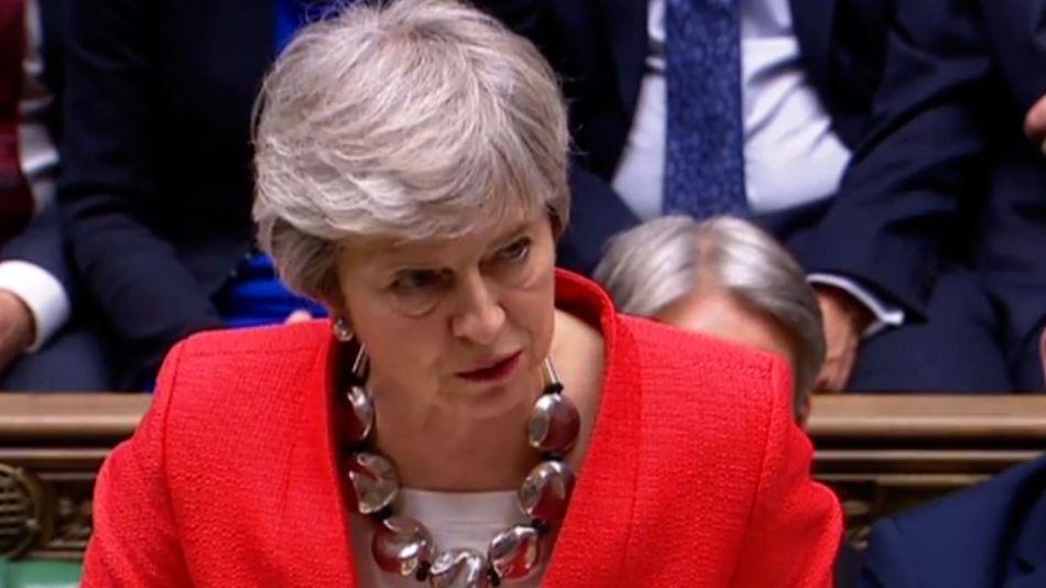 Theresa May 20190312