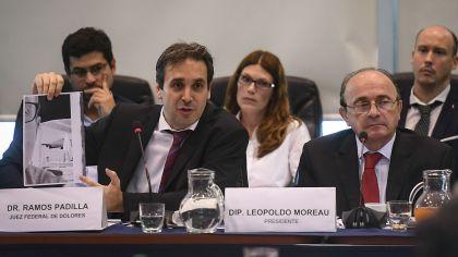El juez Ramos Padilla expuso ante la comisión de Libertad de Expresión de la Cámara de Diputados