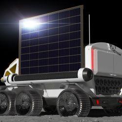 Vehículo proyectado por Toyota y JAXA para tareas de exploración de la superficie lunar.