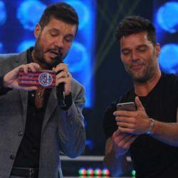 Ricky Martin y Marcelo Tinelli podrían trabajar juntos.