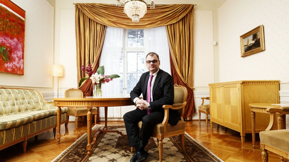 Finland's Prime Minister Juha Sipila Interview